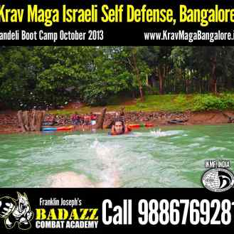 Swimming away : Dandeli Boot Camp Oct 2013