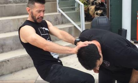 Basic knee strike tutorial