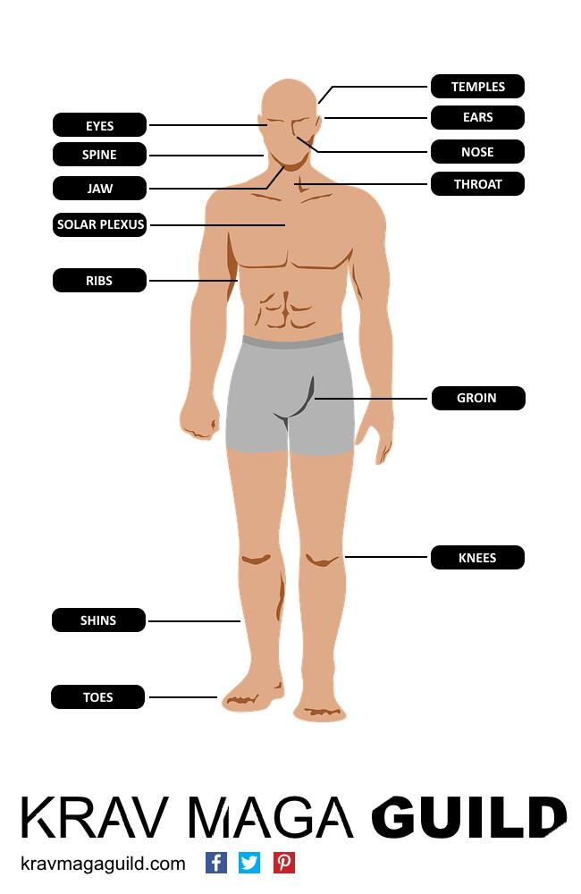 body weak points