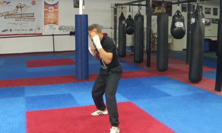 Shadow boxing drills