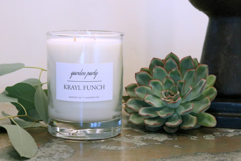 Krayl Funch Candle Line - Garden Party