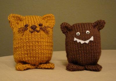 Free Knitted Amigurumi : Simple knit amigurumi