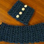 Lace Rib Neckwarmer