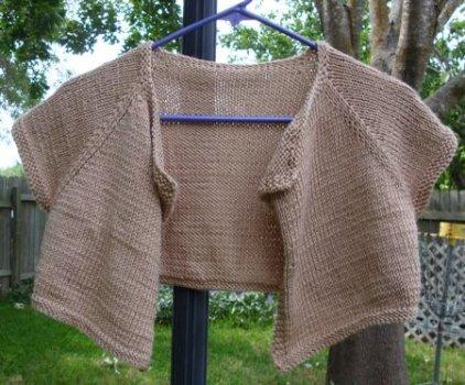 cardi shrug free knit pattern