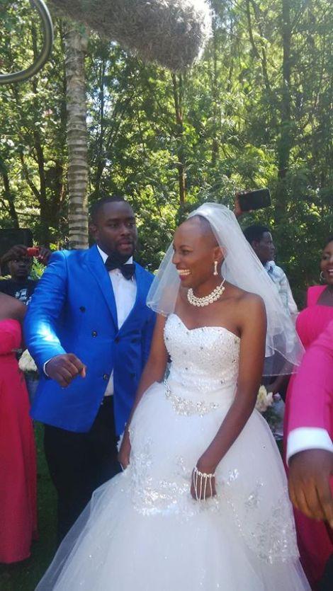 Kawira of Papa Shirandula beautiful wedding photos  krazyinsidekenya