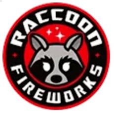 Raccoon Fireworks Logo