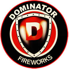 Dominator Fireworks Logo