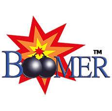Intergalactic Brands Boomer Fireworks Logo