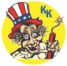 Krazy Kaplans Fireworks Logo