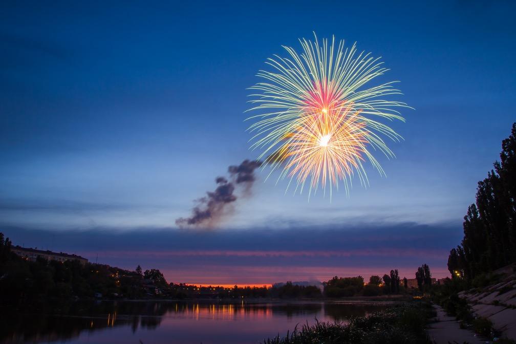 Fireworks dealer in Naperville, Illinois