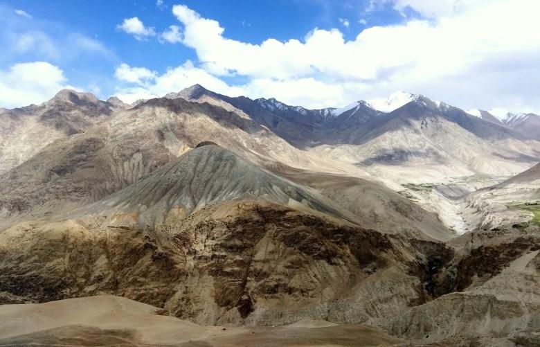 Hanle village in Ladakh