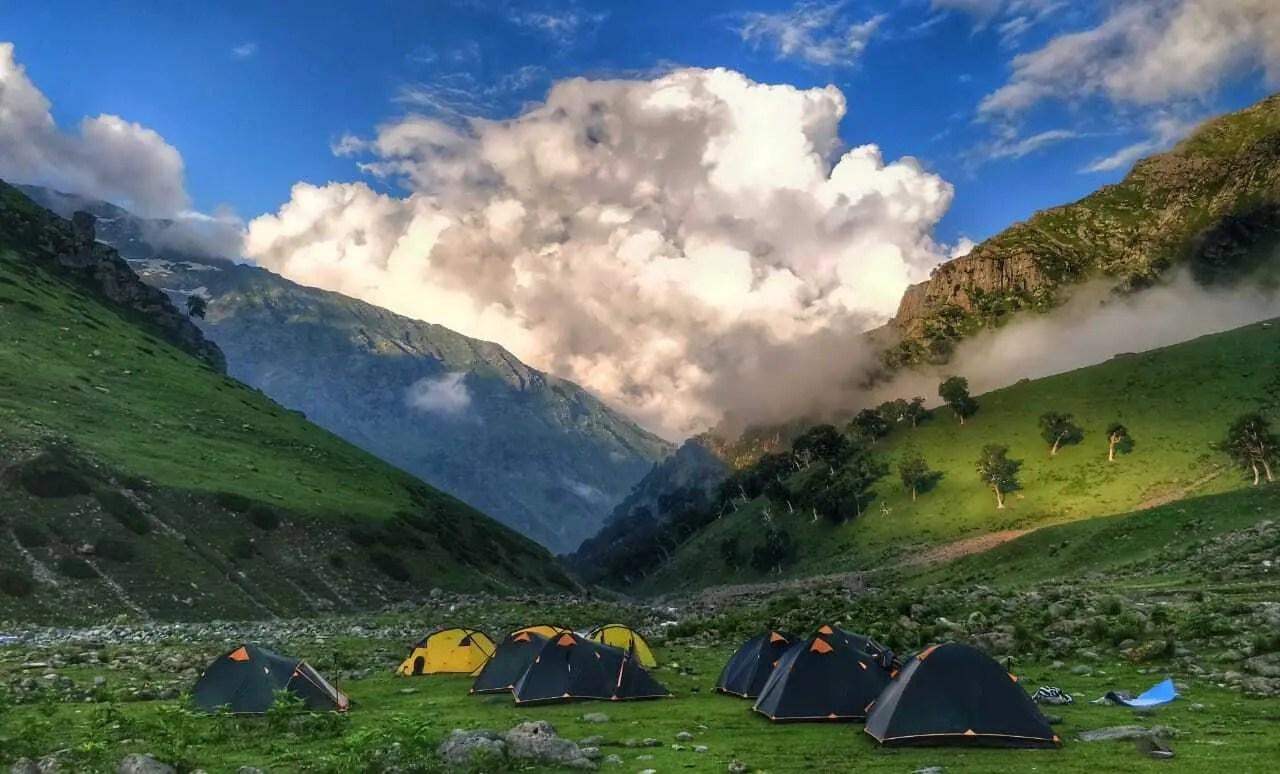 Shekhawas campsite
