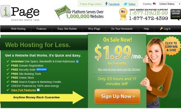 IPages Discount Hosting