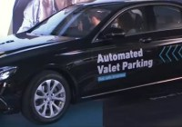 Bosch and Daimler demonstrates an automated valet parking