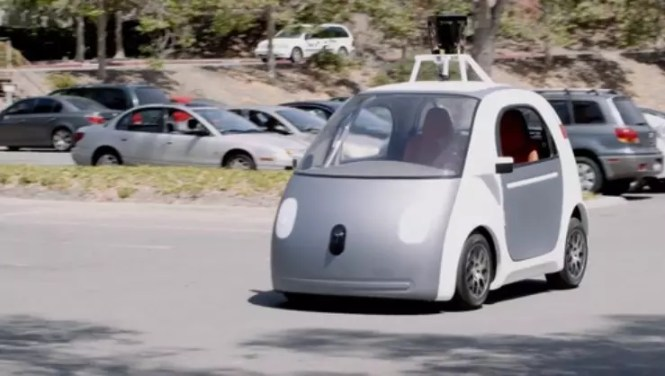 Googles Fully functional self-driver car