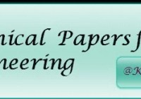 Technical paper presentation topics for civil Engineering