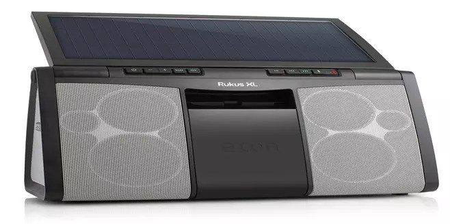 Solar powered speaker - Eton Rugged Rukus XL Sound System