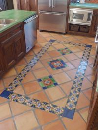 Mexican Tile Floor And Decor Ideas For Your Spanish Style ...