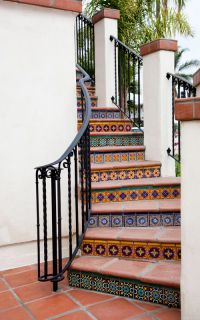 Tile On Stairs Ideas