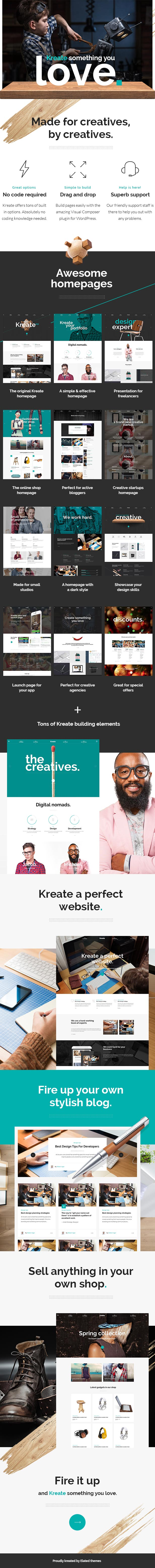 Kreate – Expert Theme for Creative Business 1