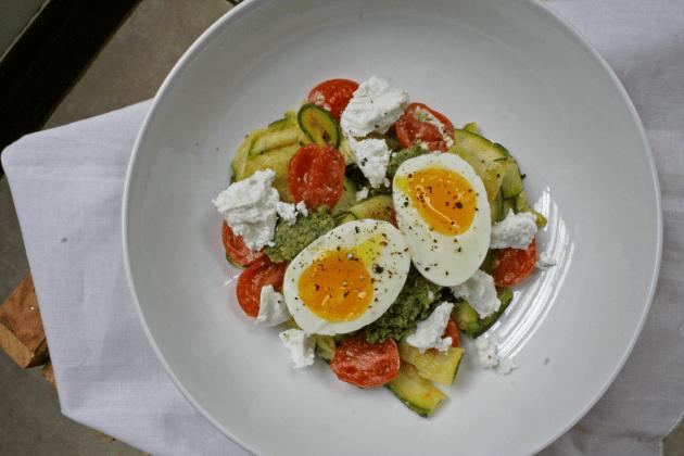 Italian Vegetarian Zucchini Pasta