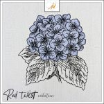 Red Twist collection – Hydrangeas