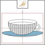 Red Twist collection – Tea cup