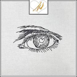 Redwork Eye