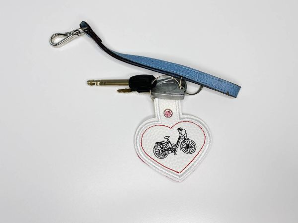 Read more about the article Embroidery for my bicycle