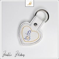 Freebie Friday ITH ilove UK key fob