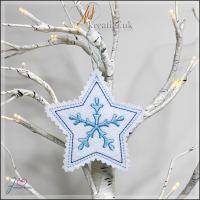 Freebie Friday ITH Star Snowflake 1