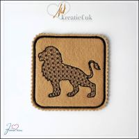 Freebie Friday ITH Lion Coaster