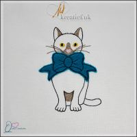 Quirky Creature – Cat with Bow