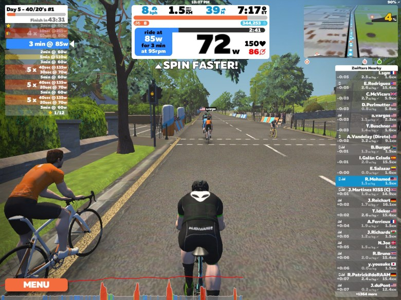 Zwift_Spin Faster