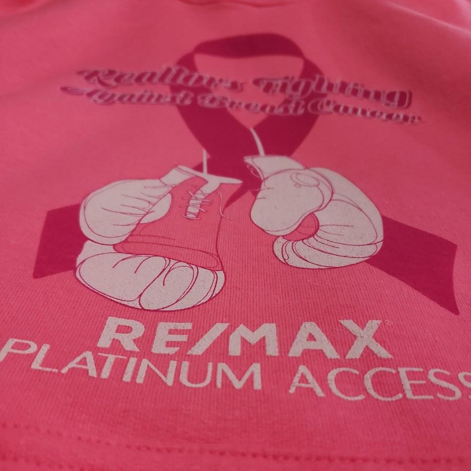 ReMax screen printed apparel