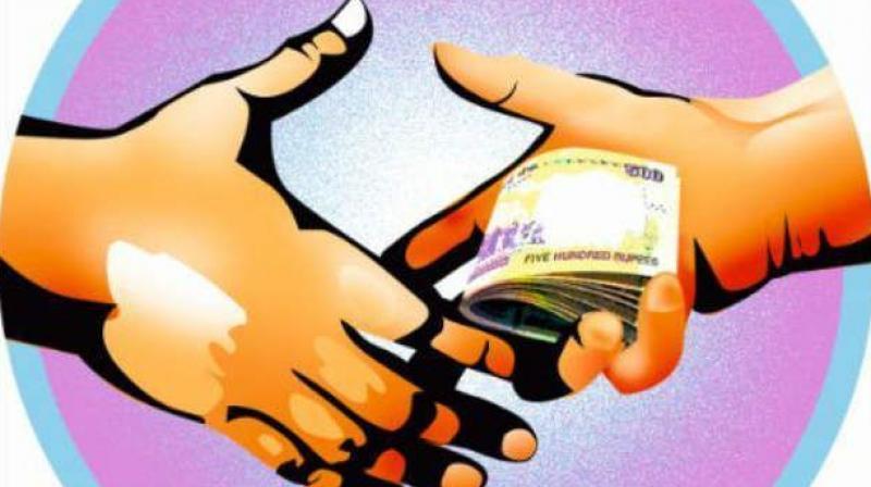 Rajahmundry Panchayat engineer caught taking bribe  Kreation Next  Blog