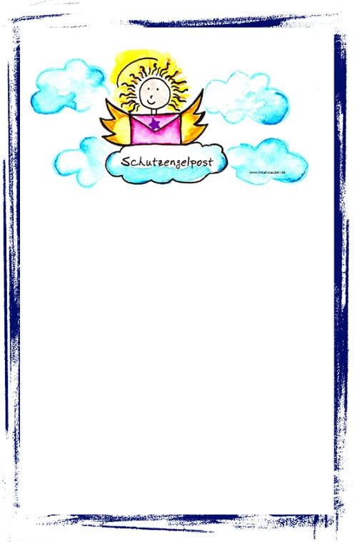 Digitales Briefpapier ausdrucken  Kreativzauber  Bastelblog mit vielen Vorlagen Anleitungen