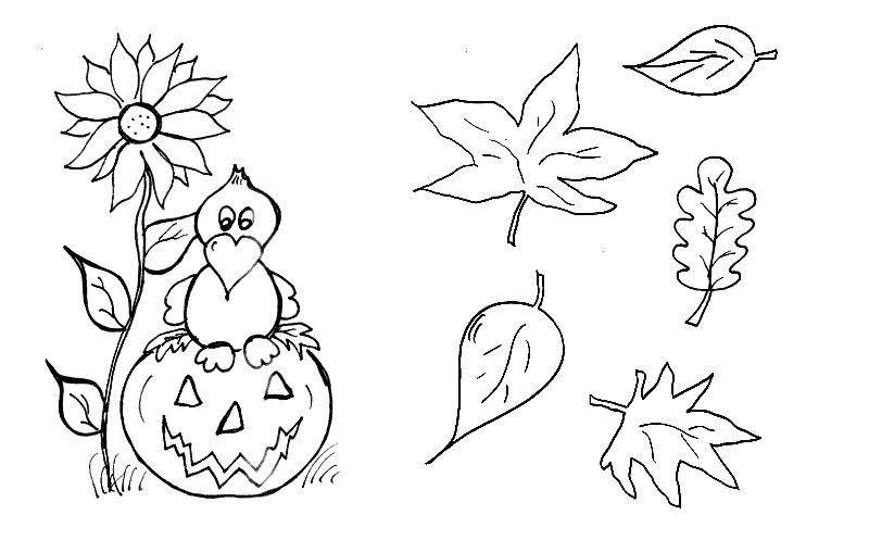 Malvorlagen Herbst Kinder