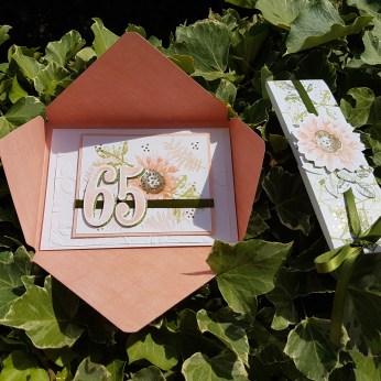 Innenseite Karte zum 65. Geburtstag