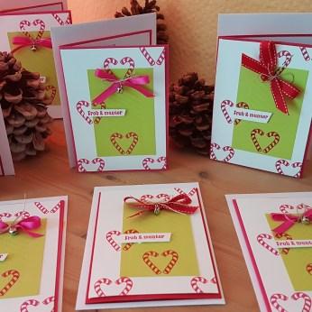 Weihnachtskarten für meine Kunden