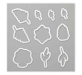 Framelits Formen Vier Jahreszeiten, 150074, 34,00 € abgestimmt auf das GRATIS-Stempelset Painted Saisons, 150349, SAB 2019