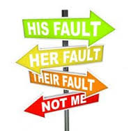 THE BLAME GAME - the game we all play!