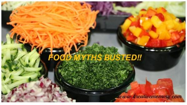 Food myths busted