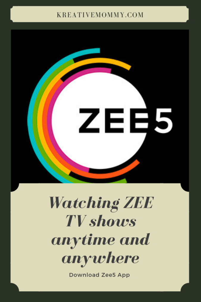 Watching ZEE TV Shows Online Anytime and Anywhere - Kreativemommy