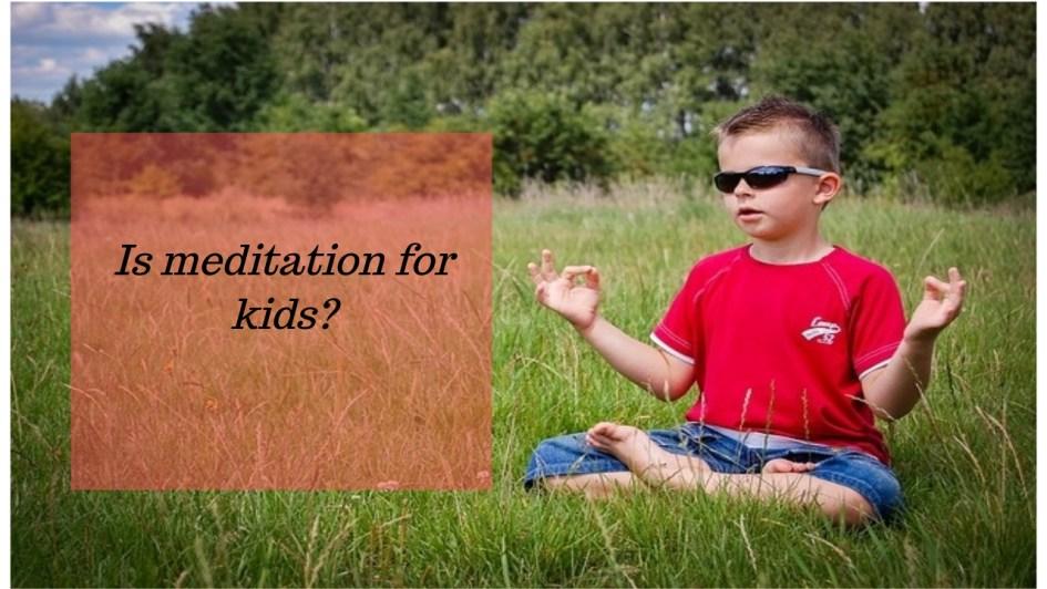 Meditaion for children