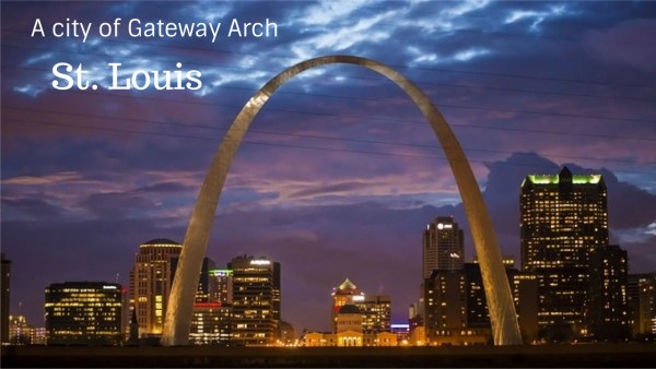 St. Louis a gateway arch