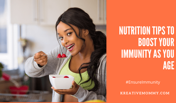 Boost your immunity as you age