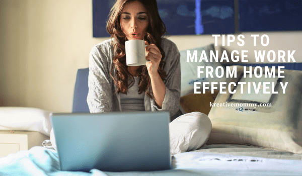 Manage work from home