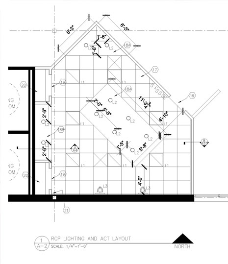 Autocad design for conference room