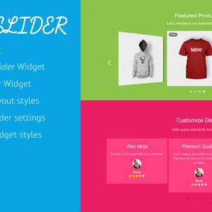 Woosh - WooCommerce Slider for Layers Extension